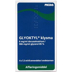 Køb GLYOKTYL REKTALVÆ.6+906 MG/ML online hos apotekeren.dk