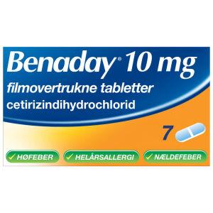 Køb BENADAY TABL 10 MG online hos apotekeren.dk