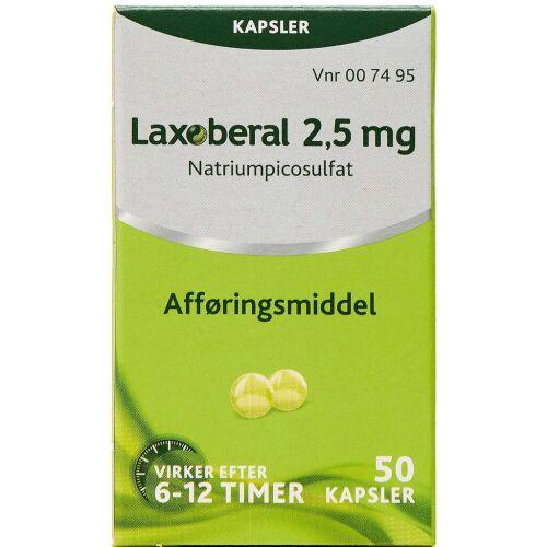 Køb LAXOBERAL KAPS 2,5 MG online hos apotekeren.dk