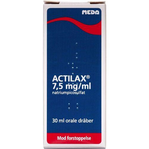 Køb ACTILAX ORALE DR OPL 7,5 MG/ML online hos apotekeren.dk