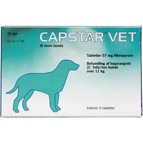 Køb Capstar Vet Tabletter til hunde over 11 kg 6 stk. online hos apotekeren.dk