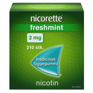 Køb NICORETTE FRESHMIN.MED.TYG 2MG online hos apotekeren.dk