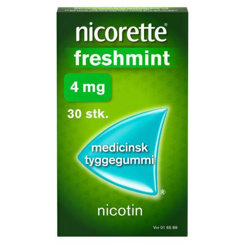 Køb NICORETTE FRESHMIN.MED TYG 4MG online hos apotekeren.dk