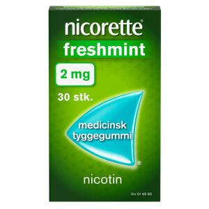Køb NICORETTE FRESHMIN.MED TYG 2MG online hos apotekeren.dk