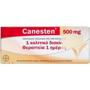 Køb CANESTEN VAGINALTABL 500 MG(OR online hos apotekeren.dk