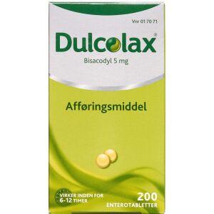 Køb DULCOLAX ENTEROTABL 5 MG online hos apotekeren.dk