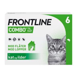 Køb Frontline Combo Vet til katte 6 x 0,5 ml online hos apotekeren.dk
