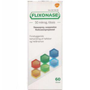 Køb FLIXONASE NÆSESPR.50 MIKG/DS online hos apotekeren.dk