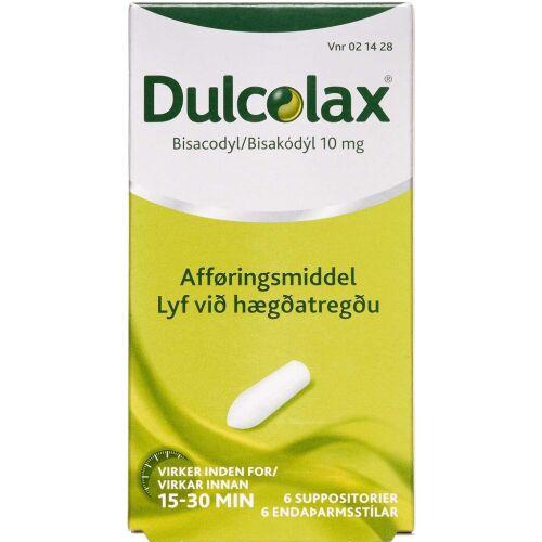 Køb DULCOLAX SUPP 10 MG online hos apotekeren.dk