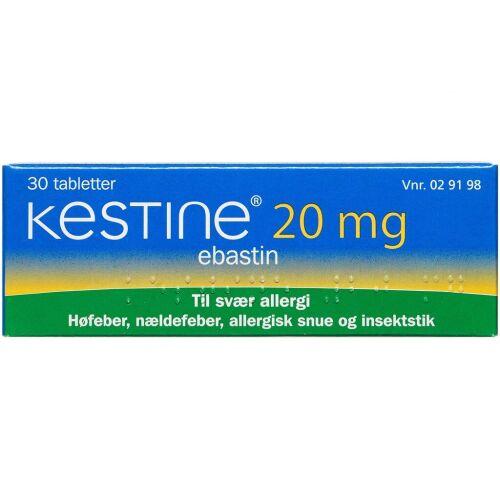 Køb KESTINE TABL 20 MG online hos apotekeren.dk