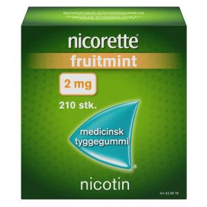 Køb NICORETTE FRUITMIN.MED.TYG 2MG online hos apotekeren.dk
