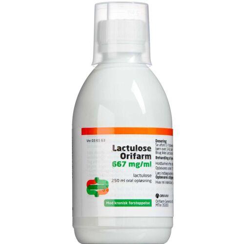 Køb LACTULOSE OR.OPL 667 MG/ML (OR online hos apotekeren.dk