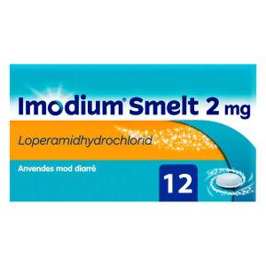 Køb IMODIUM SMELT FRYS. TABL 2 MG online hos apotekeren.dk