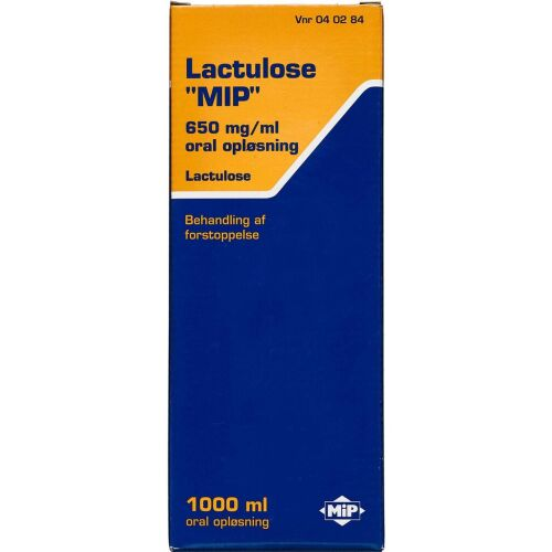Køb LACTULOSE OR.OPL 650 MG/ML MIP online hos apotekeren.dk