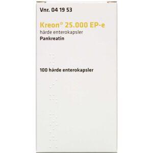 Køb KREON ENTK LIPASE 25.000 EP-E online hos apotekeren.dk