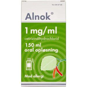Køb ALNOK ORAL OPL 1 MG/ML online hos apotekeren.dk