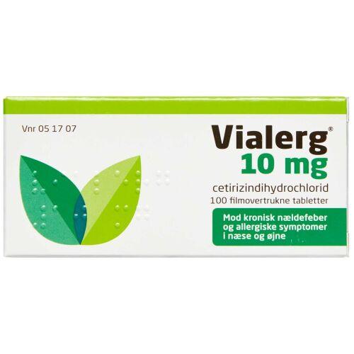 Køb VIALERG TABL 10 MG online hos apotekeren.dk