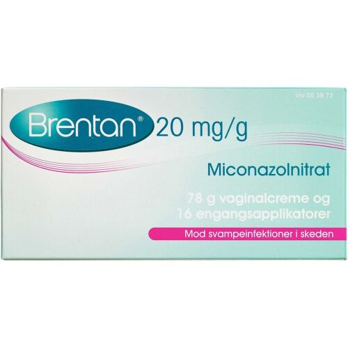 Køb BRENTAN VAGINALCREME 20 MG/G online hos apotekeren.dk