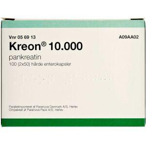 Køb KREON LIPASE 10.000 EP-E ENTKP online hos apotekeren.dk