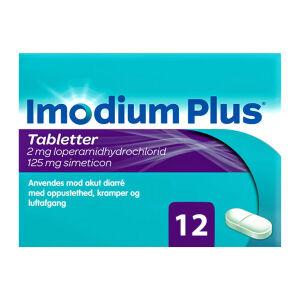 Køb IMODIUM PLUS TABL 2+125 MG online hos apotekeren.dk