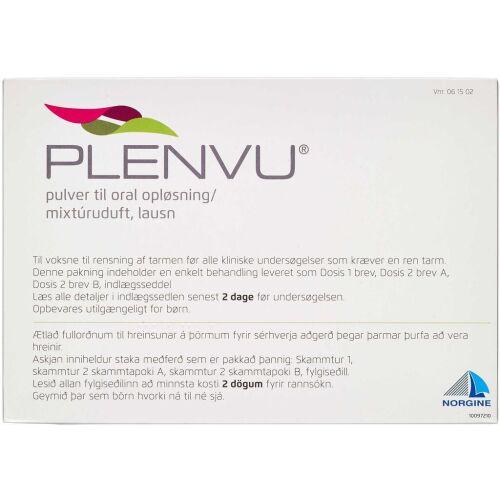 Køb PLENVU PLV T.ORAL OPL online hos apotekeren.dk