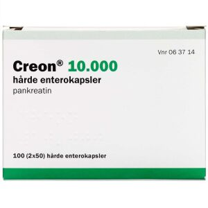 Køb CREON LIPASE 10.000 EP-E ENT online hos apotekeren.dk