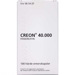 Køb CREON LIPASE 40.000 EP-E ENT online hos apotekeren.dk