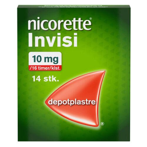 Køb NICORETTE INVISI DPPL 10MG/16T online hos apotekeren.dk