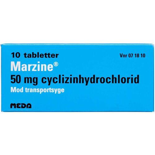Køb MARZINE TABL 50 MG online hos apotekeren.dk