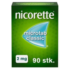 Køb NICORETTE MICROTAB CLASSIC 2MG online hos apotekeren.dk