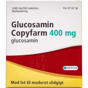 Køb GLUCOSAMIN TABL 400 MG (COPYF online hos apotekeren.dk