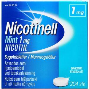 Køb NICOTINELL MINT SUGETABL 1 MG online hos apotekeren.dk