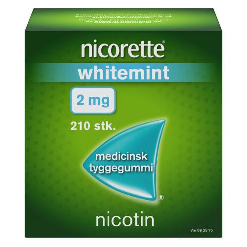 Køb NICORETTE WHITEMIN.MED.TYG 2MG online hos apotekeren.dk