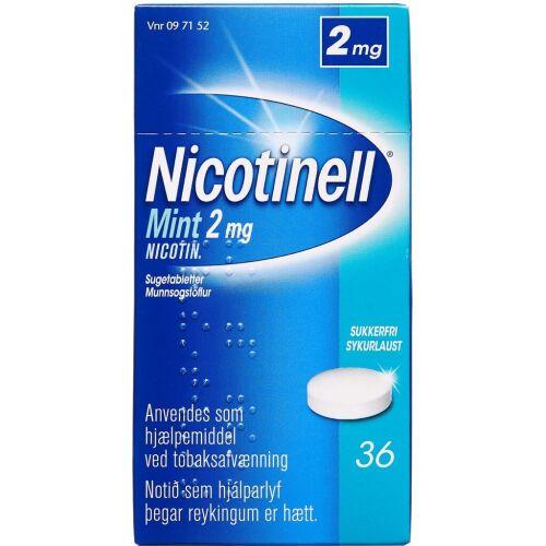 Køb NICOTINELL MINT SUGETABL 2 MG online hos apotekeren.dk