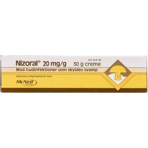 Køb NIZORAL CREME 2 % online hos apotekeren.dk