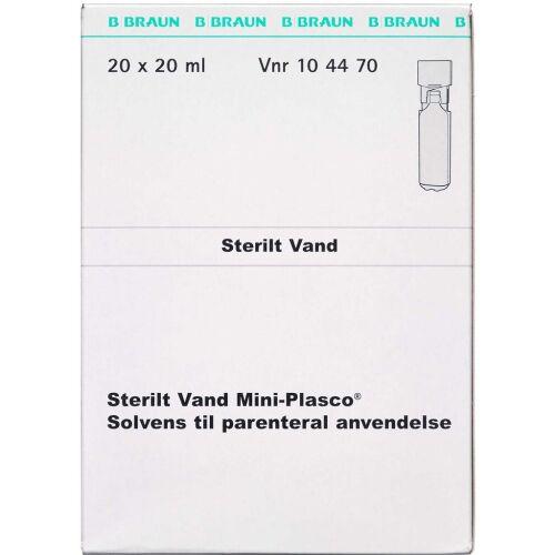 Køb STERILT VAND MINI-PLASCO online hos apotekeren.dk