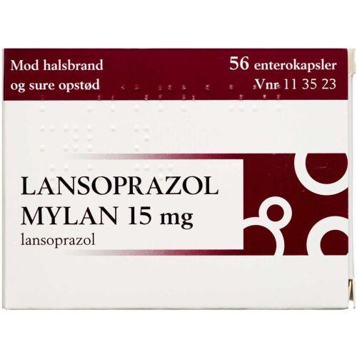Køb LANSOPRAZOL ENTKAPS 15 MG (MY online hos apotekeren.dk