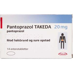 Køb PANTOPRAZOL ENTTABL 20 MG (TA online hos apotekeren.dk