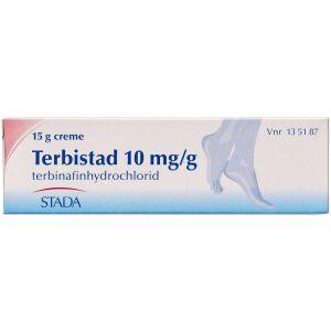 Køb TERBISTAD CREME 10 MG/G online hos apotekeren.dk