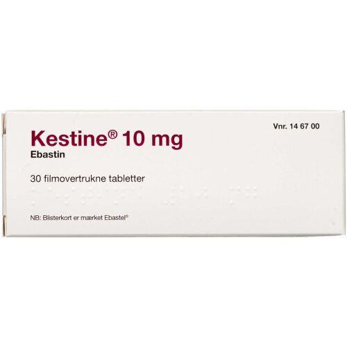Køb KESTINE TABL 10 MG (2CARE4) online hos apotekeren.dk
