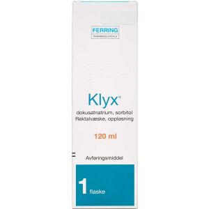 Køb KLYX REKVÆS.OPL 1+250MG/ML(ORI online hos apotekeren.dk