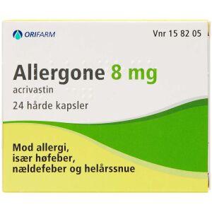 Køb ALLERGONE KAPS 8 MG online hos apotekeren.dk