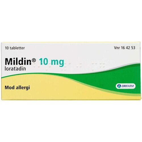 Køb MILDIN TABL 10 MG online hos apotekeren.dk