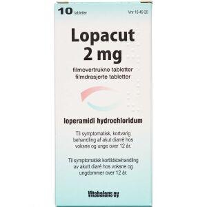 Køb LOPACUT TABL 2 MG online hos apotekeren.dk