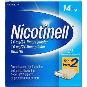 Køb NICOTINELL DEPOTPL. 14MG/24T online hos apotekeren.dk