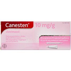 Køb CANESTEN VAGINALCREME 10MG/ML online hos apotekeren.dk