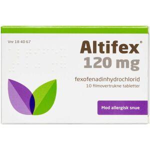 Køb ALTIFEX TABL 120 MG (ORIFARM) online hos apotekeren.dk