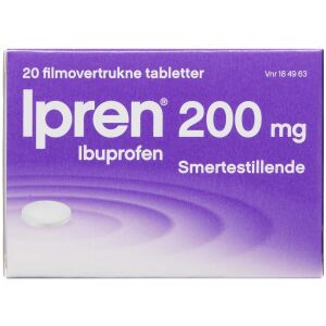 Køb IPREN TABL 200 MG online hos apotekeren.dk
