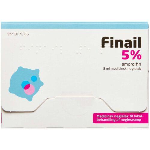 Køb FINAIL MEDICINSK NEGLELAK 5 % online hos apotekeren.dk