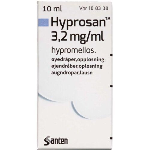 Køb HYPROSAN ØJENDRÅBER 3,2 MG/ML online hos apotekeren.dk